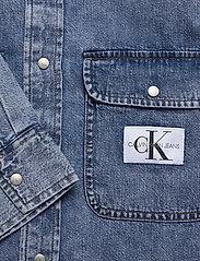 Calvin Klein Jeans - ARCHIVE REGULAR SHIRT - basic overhemden - ab078 icn mid blue - 3