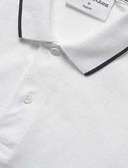 Calvin Klein Jeans - TIPPING SLIM POLO - korte mouwen - bright white - 2