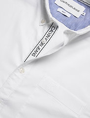 Calvin Klein Jeans - CHAMBRAY SLIM STRETCH - basic overhemden - bright white - 4