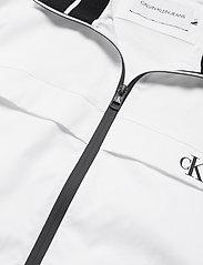Calvin Klein Jeans - ZIP UP HARRINGTON - kurtki-wiosenne - bright white - 4