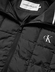 Calvin Klein Jeans - PADDED HOODED JACKET - kurtki puchowe - ck black - 5