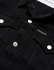 Calvin Klein Jeans - FOUNDATION SLIM DENIM JACKET - farkkutakit - ab099 washed black - 2