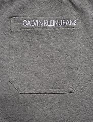 Calvin Klein Jeans - SIDE LOGO HWK SHORT - casual shorts - mid grey heather - 6