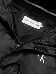 Calvin Klein Jeans - HOODED PUFFER JACKET - kurtki puchowe - ck black - 4