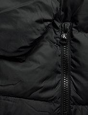 Calvin Klein Jeans - HOODED PUFFER JACKET - kurtki puchowe - ck black - 5