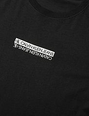 Calvin Klein Jeans - MIRROR LOGO SLIM FIT TEE - t-shirts à manches courtes - ck black - 2