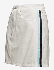 Calvin Klein Jeans - High Rise Mini Skirt Stripe - lyhyet - white - 1