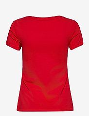 Calvin Klein Jeans - CK EMBROIDERY SLIM TEE - t-shirts - red hot - 1