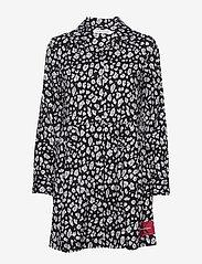 Calvin Klein Jeans - ANIMAL PRINT DINER DRESS - hverdagskjoler - leo print - 1