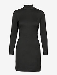 Calvin Klein Jeans - COATED MILANO DRESS - bodycon-kjoler - ck black - 0
