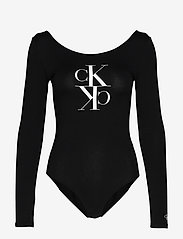 Calvin Klein Jeans - MIRRORED MONOGRAM BODY - body - ck black - 0