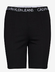 Calvin Klein Jeans - MILANO CYCLING SHORT - cycling shorts - ck black - 0