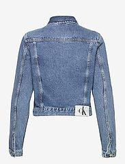Calvin Klein Jeans - 90S CROP TRUCKER - jeansjakker - ab076 icn mid blue - 1