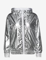 Calvin Klein Jeans - METALLIC WINDBREAKER - lichte jassen - silver metallic - 1