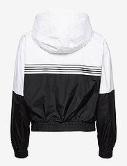 Calvin Klein Jeans - STRIPE TAPE HOODED WINDBREAKER - lette jakker - ck black - 1