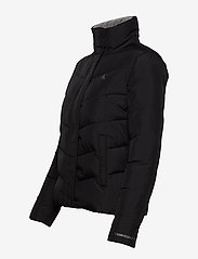Calvin Klein Jeans - SLANTERED QUILTED FITTED JACKET - fôrede jakker - ck black - 3