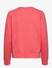 Calvin Klein Jeans - SHRUNKEN INSTITUTIONAL GMD CN - sweatshirts - island punch - 1