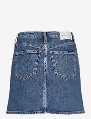 Calvin Klein Jeans - HIGH RISE MINI SKIRT - denimskjørt - ab121 light blue yoke - 1