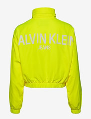 Calvin Klein Jeans - BACK LOGO WINDBREAKER - lichte jassen - safety yellow - 3