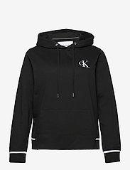 Calvin Klein Jeans - PLUS CK EMBROIDERY  HOODIE - hoodies - ck black - 0