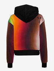 Calvin Klein Jeans - BLUR AOP OVERS - hettegensere - rainbow blur aop - 1