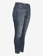 Calvin Klein Jeans - HIGH RISE SKINNY ANKLE - skinny jeans - bb234 - blue black logo zip he - 3