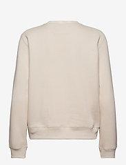 Calvin Klein Jeans - CK LOGO TRIM NECK CN - sweatshirts - soft cream - 1