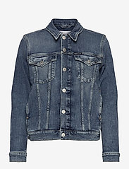 Calvin Klein Jeans - FOUNDATION DENIM JACKET - jeansjakker - bb242 - dark blue - 0