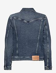 Calvin Klein Jeans - FOUNDATION DENIM JACKET - jeansjakker - bb242 - dark blue - 1
