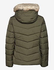 Calvin Klein Jeans - SHORT DOWN FITTED PUFFER - fôrede jakker - deep depths - 2