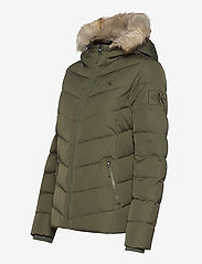 Calvin Klein Jeans - SHORT DOWN FITTED PUFFER - fôrede jakker - deep depths - 3