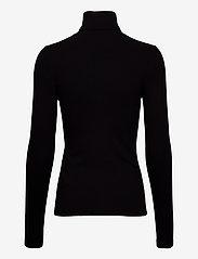 Calvin Klein Jeans - LS RIB ROLL NECK - turtlenecks - ck black - 1