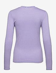 Calvin Klein Jeans - LOGO TRIM RIB LONG SLEEVES - langermede topper - palma lilac - 1