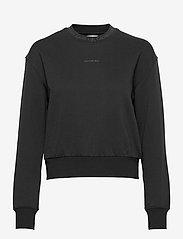 Calvin Klein Jeans - LOGO TRIM CREW NECK SWEATSHIRT - gensere og hettegensere - ck black - 0
