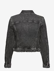 Calvin Klein Jeans - CROPPED DENIM JACKET - jeansjakker - denim grey - 1