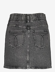 Calvin Klein Jeans - HIGH RISE MINI SKIRT - denimskjørt - denim grey - 1