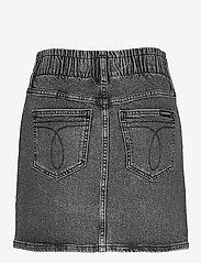 Calvin Klein Jeans - HIGH RISE MINI SKIRT - jeanskjolar - denim grey - 1
