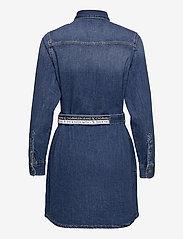 Calvin Klein Jeans - RELAXED SHIRT DRESS - skjortekjoler - denim dark - 1