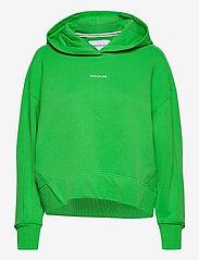Calvin Klein Jeans - MICRO BRANDING HOODIE - gensere og hettegensere - acid green - 0