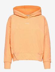 Calvin Klein Jeans - MICRO BRANDING HOODIE - gensere og hettegensere - crushed orange - 0