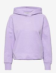 Calvin Klein Jeans - MICRO BRANDING HOODIE - hettegensere - palma lilac - 0