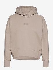 Calvin Klein Jeans - MICRO BRANDING HOODIE - gensere og hettegensere - string - 0