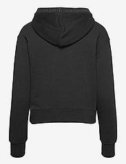 Calvin Klein Jeans - LOGO TRIM HOODIE - sweatshirts & hoodies - ck black - 1
