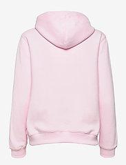 Calvin Klein Jeans - MONOGRAM LOGO HOODIE - hettegensere - pearly pink/quiet grey - 1