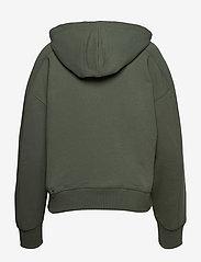Calvin Klein Jeans - MICRO BRANDING ZIP-THROUGH - duck green - 1