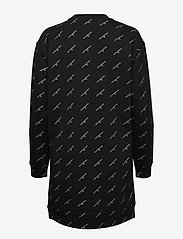 Calvin Klein Jeans - AOP GOLD LOGO CN DRESS - hverdagskjoler - ck monogram aop - 1