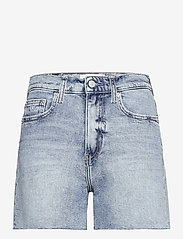 Calvin Klein Jeans - MOM SHORT - denimshorts - denim light - 0