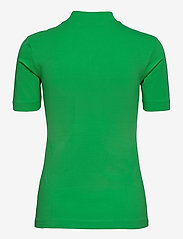 Calvin Klein Jeans - MICRO BRANDING STRETCH MOCK NECK - t-shirts - acid green - 1