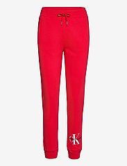 Calvin Klein Jeans - MONOGRAM JOG PANT - sweatpants - racing red - 0