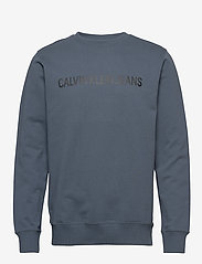 Calvin Klein Jeans - INSTITUTIONAL LOGO SWEATSHIRT - svetarit - orion blue - 0